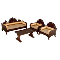 Wooden Sofa Chair , carving wood sofa set , wooden carved sofa set , carved wood and leather sofa sets , Luxury traditional sofa