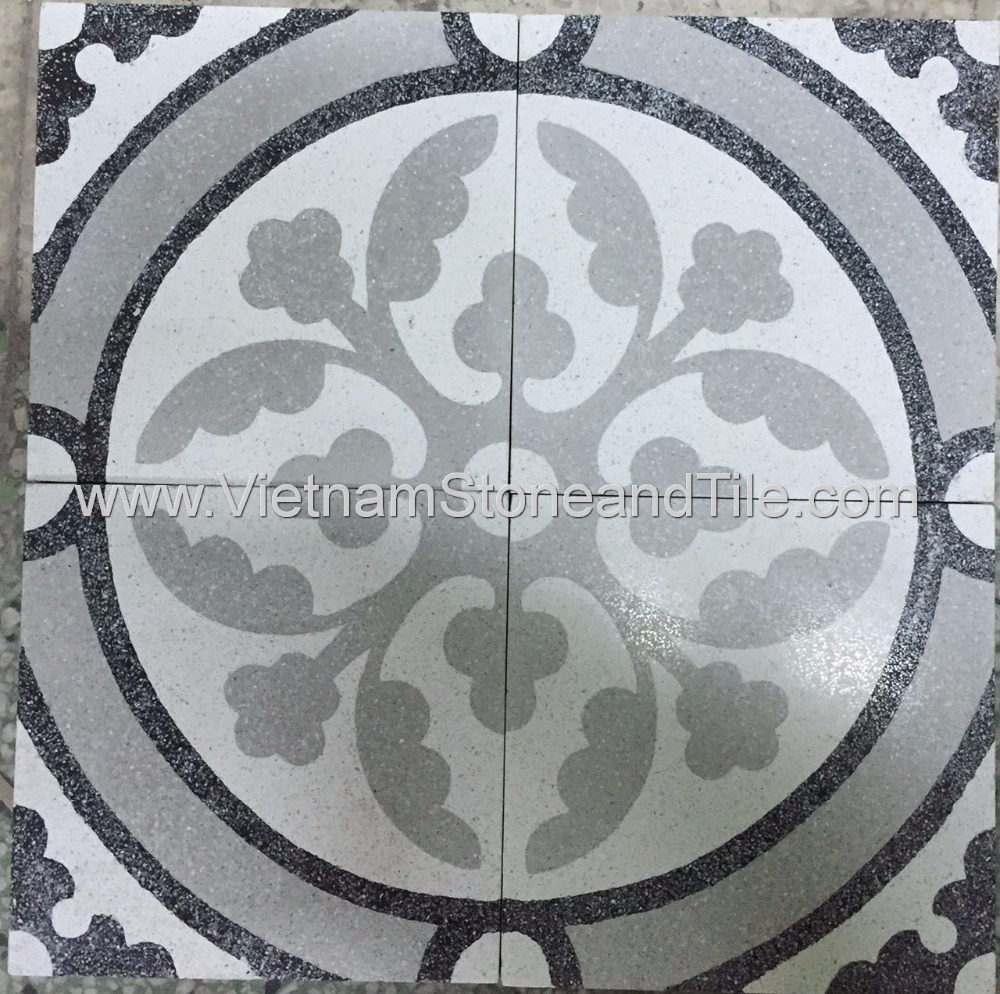 Vst Encaustic Handmade Cement Tile In Terrazzo Finish - Buy Terrazzo Floor  Tiles,Cement Terrazzo Tiles,Cheap Terrazzo Tile Product on Alibaba com