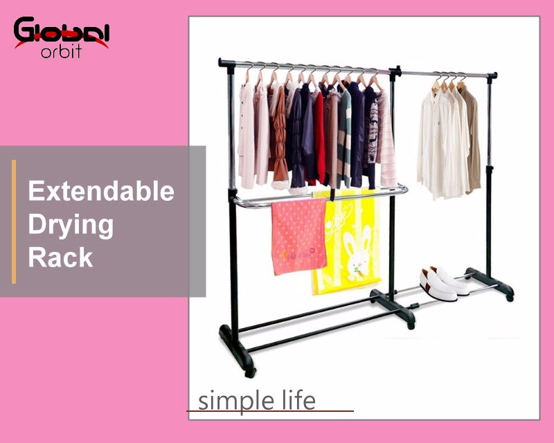 colorful adjustable metal garment clothes stand movable single clothes rack - Metal Clothes Rack