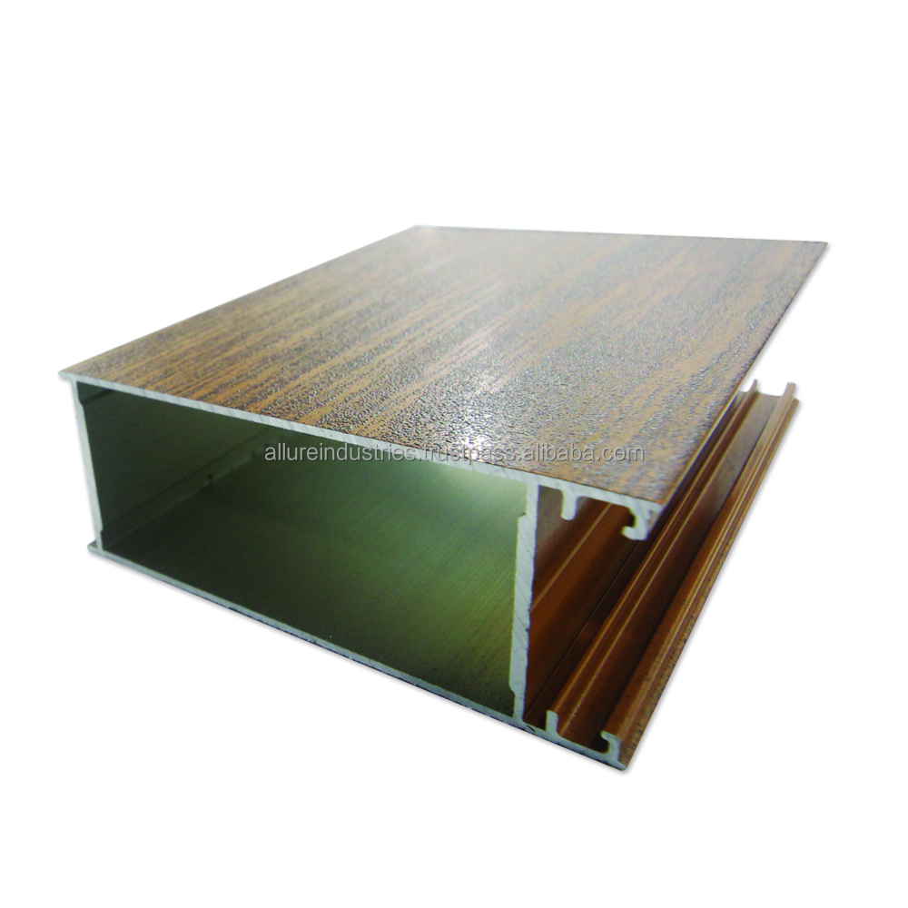 Wood Finished Aluminium Profile