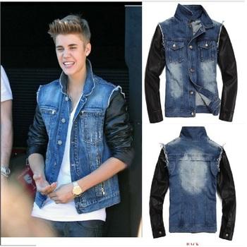 Denim Jacket Justin Bieber Wardrobe Buy Boy Stylish Jacket Branded