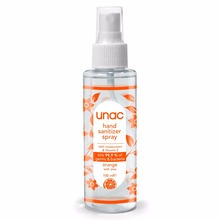 Unac <span class=keywords><strong>Disinfettante</strong></span> per le mani <span class=keywords><strong>A</strong></span> <span class=keywords><strong>Spruzzo</strong></span> 100 ml