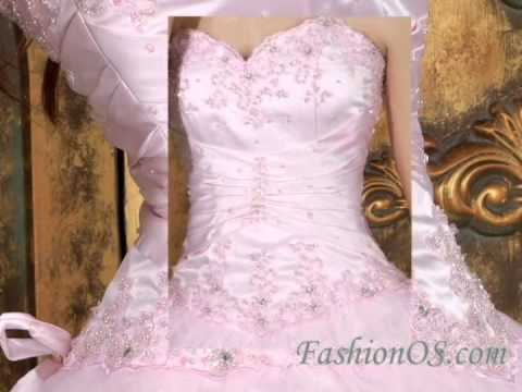 Baby Pink Ball Gown Sweetheart Tulle 2014 Quinceanera Dress with Appliques-dressforquince.com