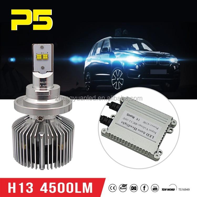 New Plug & Play Led H4 Hi/low Beam Led Headlight 45w 4500lm 6000k ...