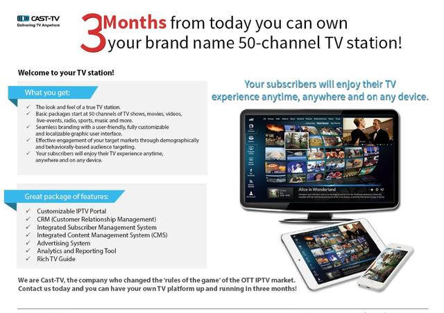 Cast-tv Iptv Platform - Buy Iptv Epg Catch Up Tv Ott Iptv Middleware Cdn  Catch-up Tv Time Shift Cast-tv Product on Alibaba com
