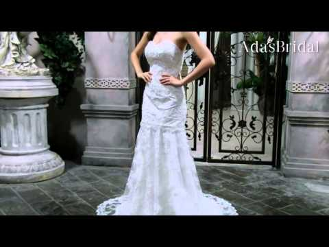 Elegant Tulle Sweetheart Neckline 2 In 1 Wedding Dresses With Lace Appliques--AdasbridalWWD32752)