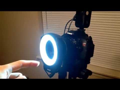 NEEWER 48 LED Ring Light Review Not a Flash!) || Macro Light for $35