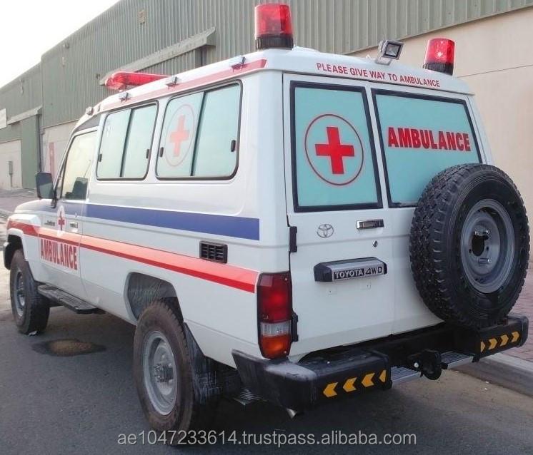 16648c3a6c Toyota Land Cruiser Hardtop Ambulance - Buy Ambulance Uae