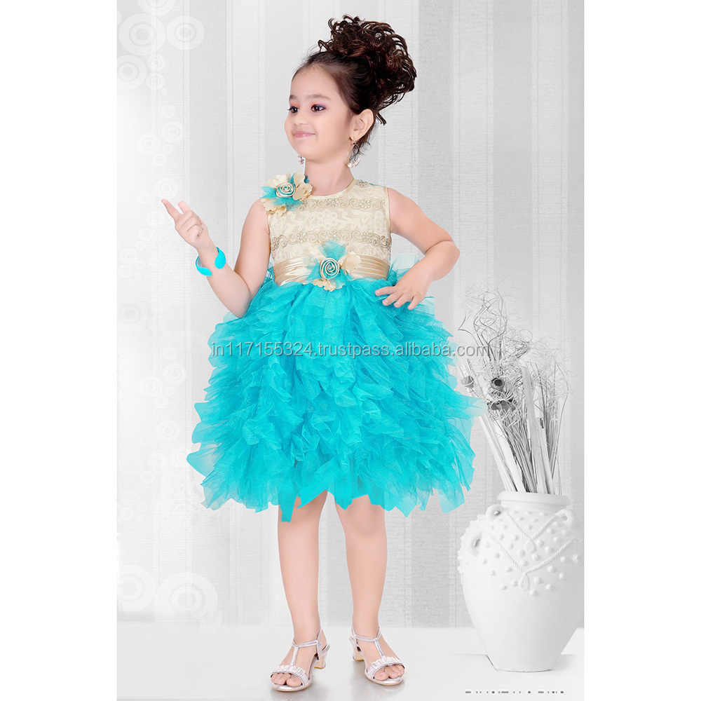 Kids Party Wear Dresses For Girls-fashion Children Frocks Designs ...