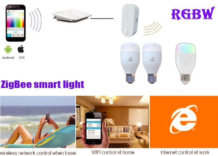Smart Zigbee Technology Wifi Control E27 60w Led Candelabra Bulb ...