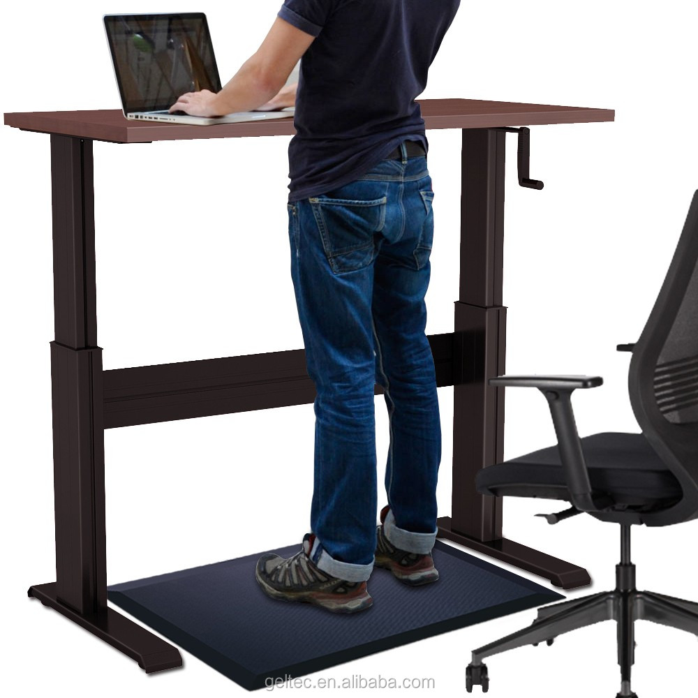 mat accessories floor tackable lcd panels htm privacy desk up arm standing standup aht outfit your chair screen stand new desks