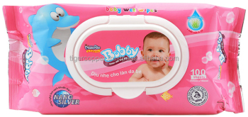 MAMYPOKO BOBBY BABY WET WIPES PACK (100 SHEETS)