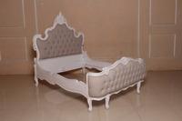 Antique Furniture-rbd 083 Q Bed Rattan Furniture-antique ...