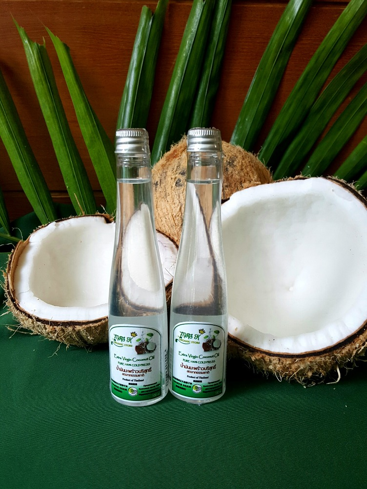 Organic Extra Virgin Coconut Oil Cold PressThailand.