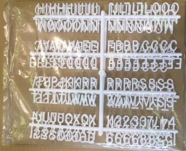 Wholesale wood plastic acrylic alphabet letters board sign for Wholesale felt letter board