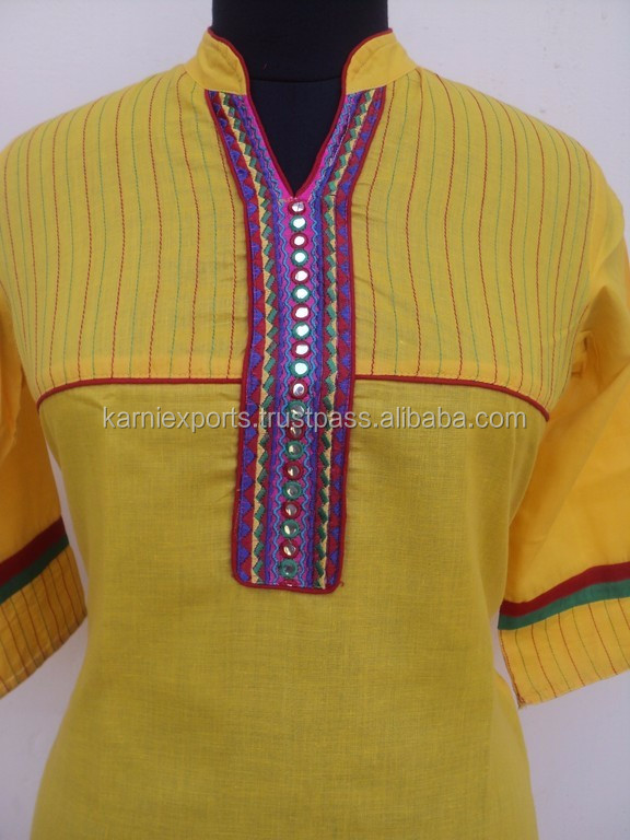 Stand Collar Kurta Designs : Latest kurti designs in karachi beautiful long