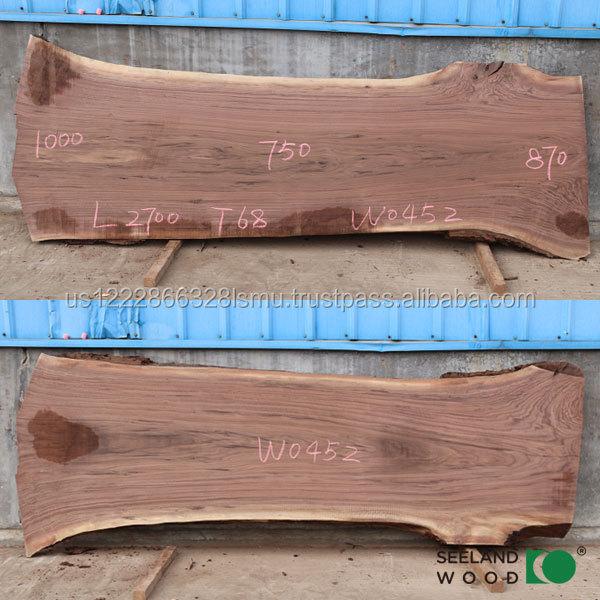 Noir am ricain noyer dalle panneaux de bois id de produit - Noyer americain ...