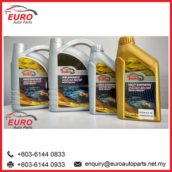 Euro Car Engine Oil For Audi Bmw Mercedes Benz Porsche And