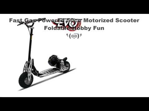Fast Gas Powered 50cc Motorized Scooter Foldable Hobby Fun Scooters Gas Scooters Fast Gas Powered 50