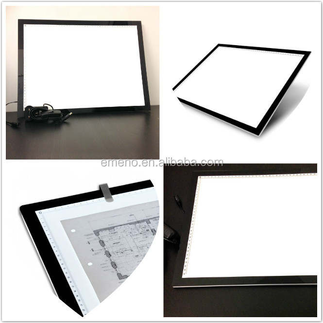 ultra slim electrical drawing led lighted drawing board a size, electrical drawing