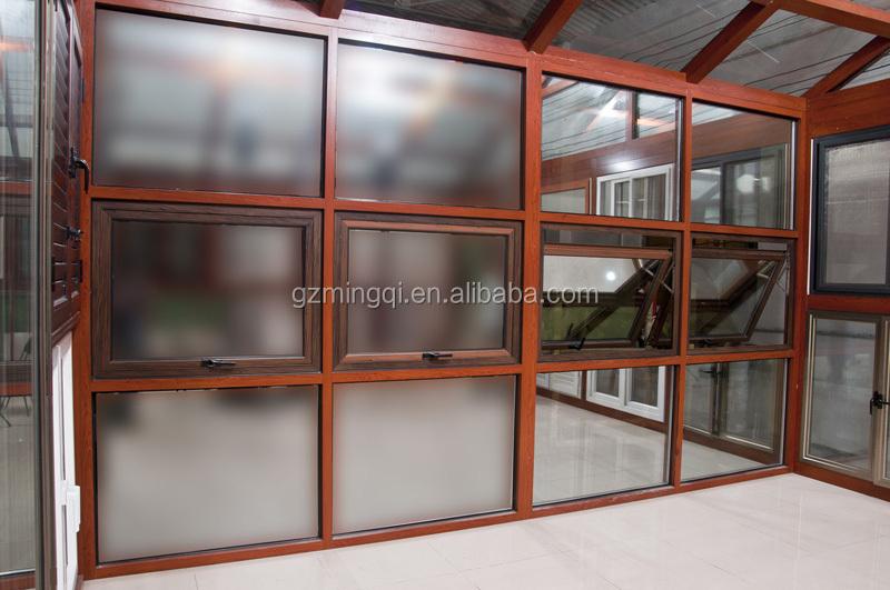 Aluminum Curtain Wall Windows : Home use aluminium glass curtain wall in big fixed windows