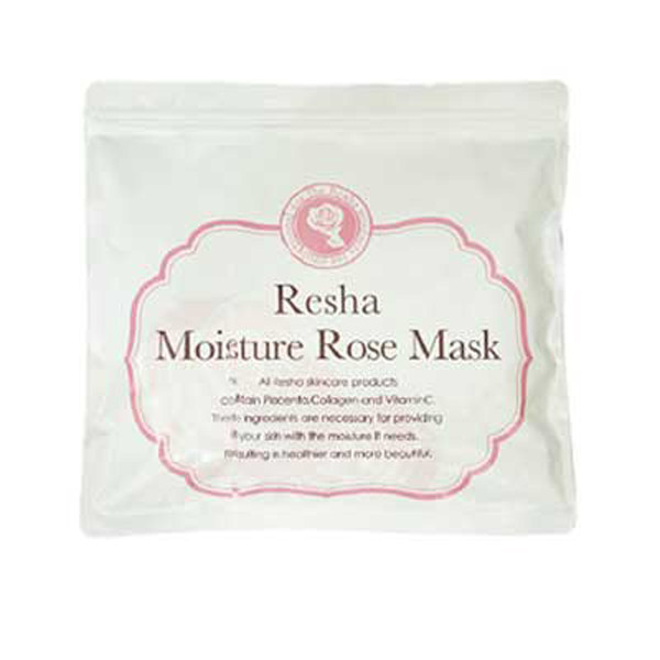 Resha Moisture Rose face Mask 40 sheets placenta and collagen face mask skin care