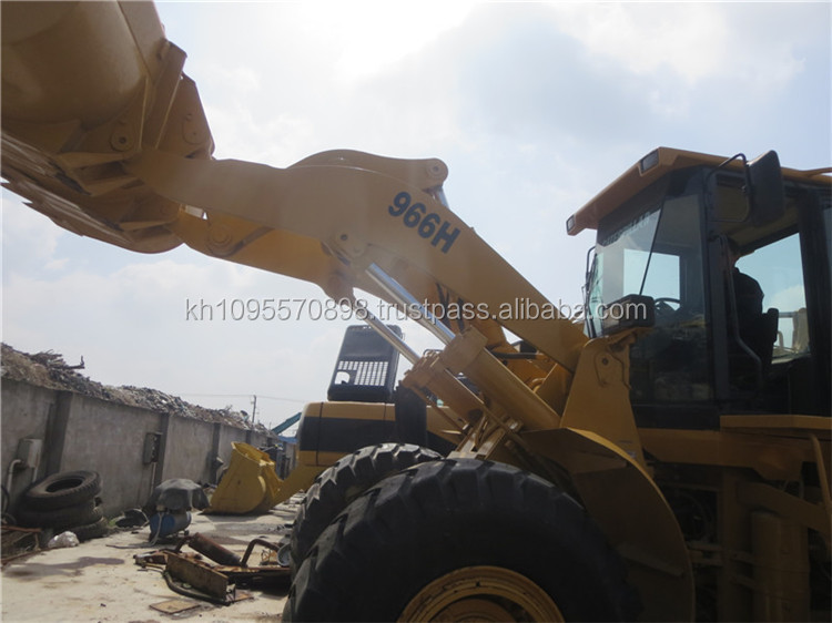 Used loader cat 966h for sale, used pay loader caterpillar 966 in China