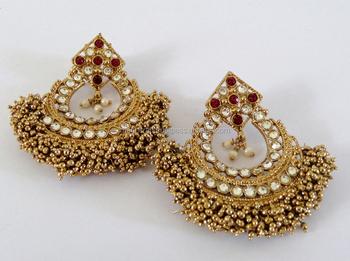 Pearl chandelier earrings wholesale pakistani bridal earring punjabi pearl chandelier earrings wholesale pakistani bridal earring punjabi chandelier earring pakistani jewelry aloadofball Images