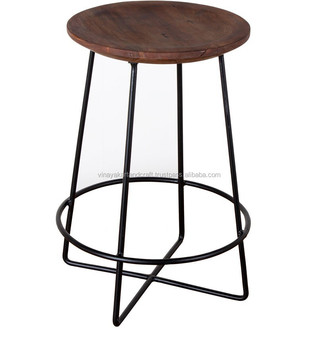 relax round bar stool industrial bar stool