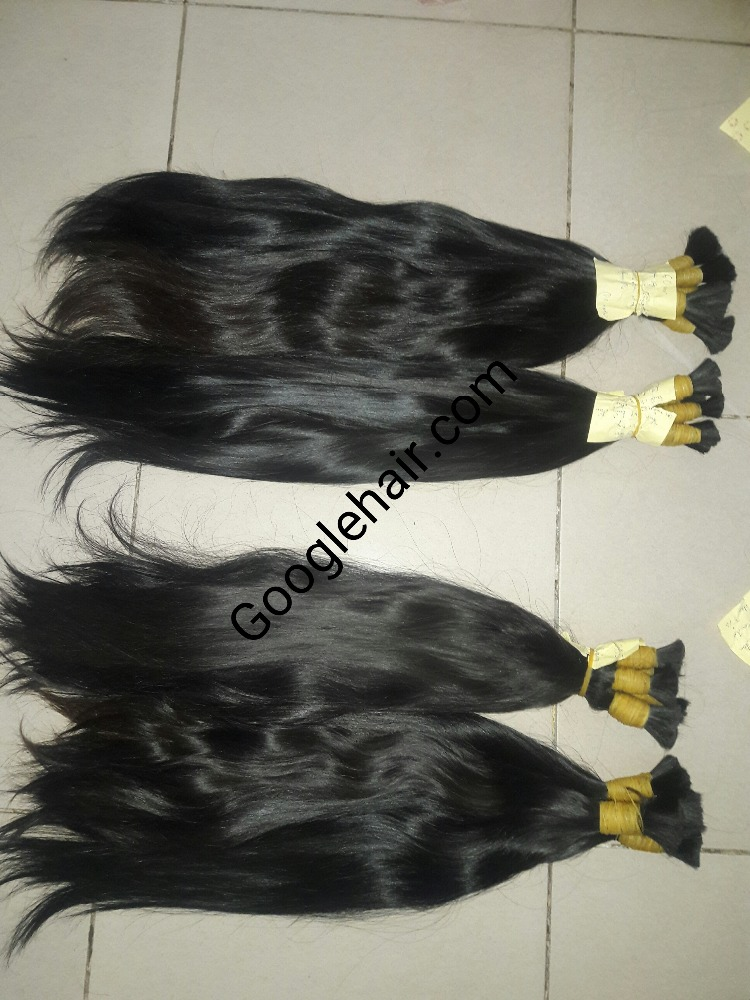 No Chemical No Dying No Tangle 100% Real Hair Extensions