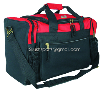 Personalized Gym Bags For Men Duffel Bag Sport Travel Carry On Workout Red
