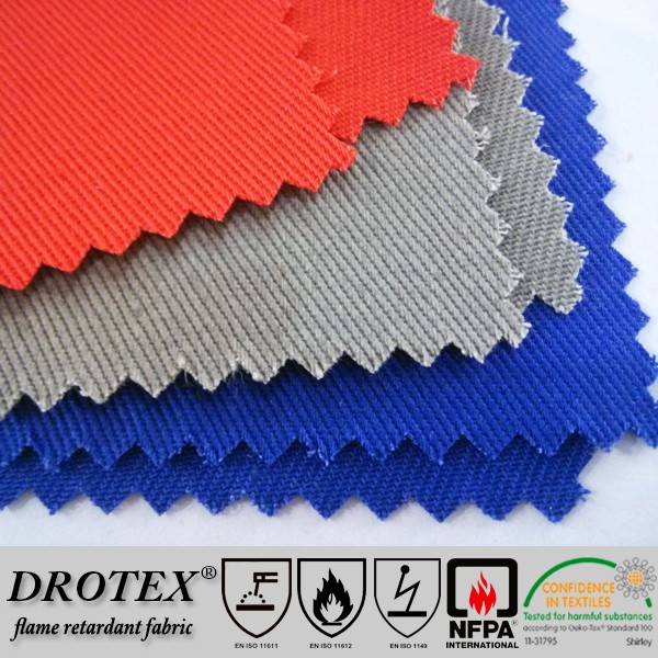 CGSB 155.20 88%Cotton 12%Nylon Flame Retardant & Arc Flash Protective Fabric