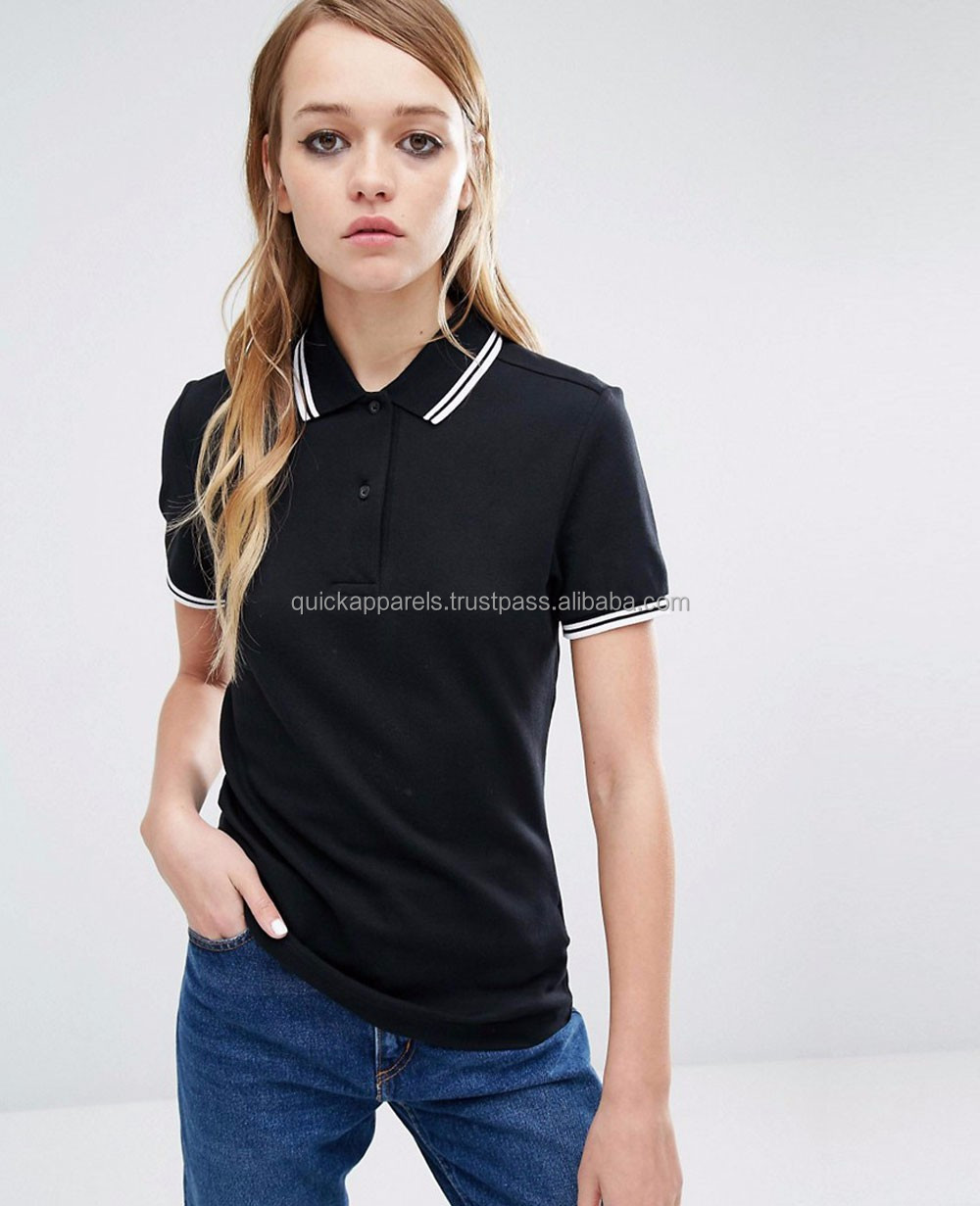 usa best selling high quality pink women wholesale cheap polo t shirts