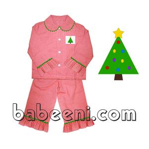 f66b14b9878 Smocked Christmas Pajamas