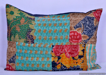 Indian Ethnic Vintage Pillow Cover Large Size Cushion Throw Hippie Decor Case