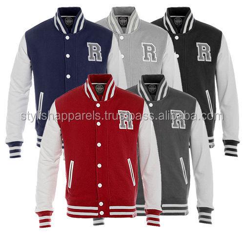 Professional Custom Baseball Varsity Jacket For Students / High ...