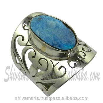 Wholesale 925 Silver Australian Opal Gemstone Jali Ring Jewelry ...