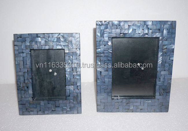 High quality lacquer MDF Photo Frame with set of two pieces