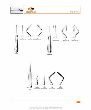 Dental Elevators Friedman Straight Instruments Names Surgical Pakistan
