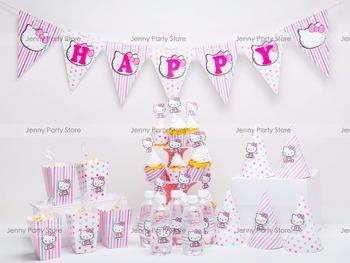 Kit Set Hello Kitty Tema Pesta Unik Nama Baby Girl Ulang Tahun Anak Perlengkapan Pesta Buy Perlengkapan Pesta Anak Anak Tema Pesta Perlengkapan