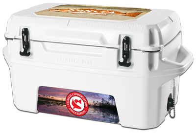 USA Made Igloo Yukon 50 Cold Locker Cooler - 50 quarts, 72 can-capacity and has UV inhibitors that protect against sun damage