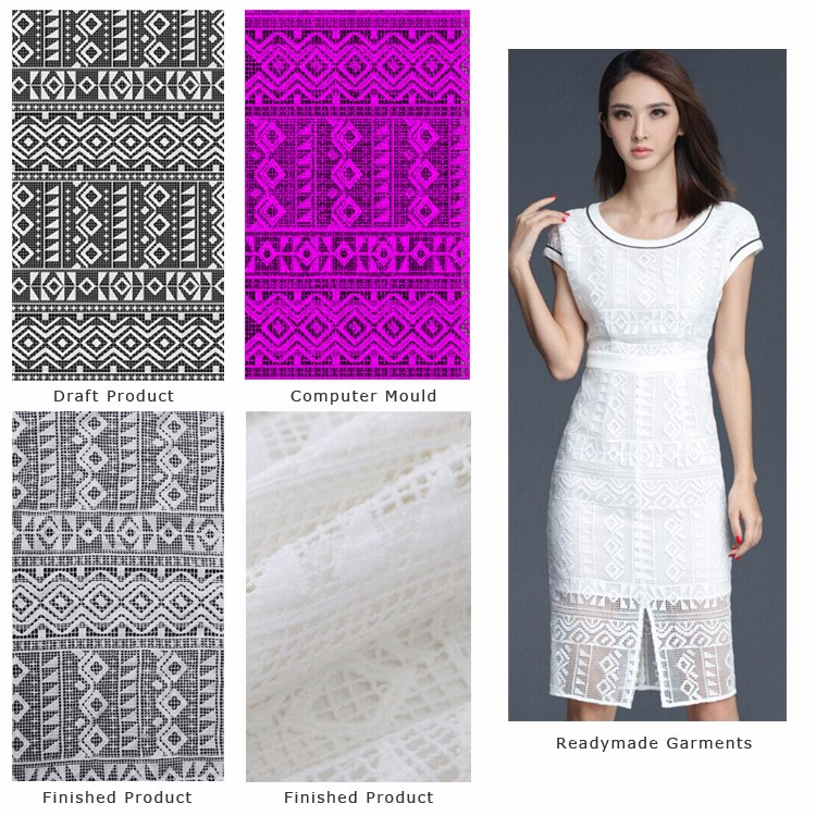 good quality Tricot Lace Fabric for garment
