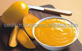 Mango concentrate for squashes, mixes and juices