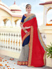 Indian Women Chiffon and Georgette Wedding Saree