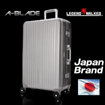 Japanese Brand Legend Walker High Quality And Light Weight Aluminum Body  Suitcase With Tsa Combination Lock - Buy Suitcase Legend Walker Product on