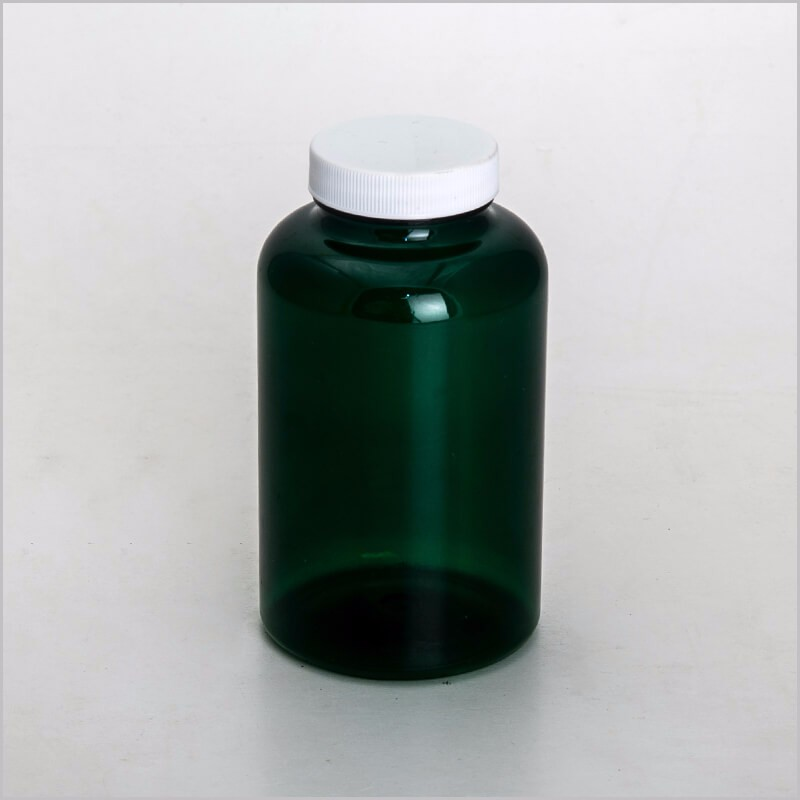 Dark amber color PET pharmaceutical bottle
