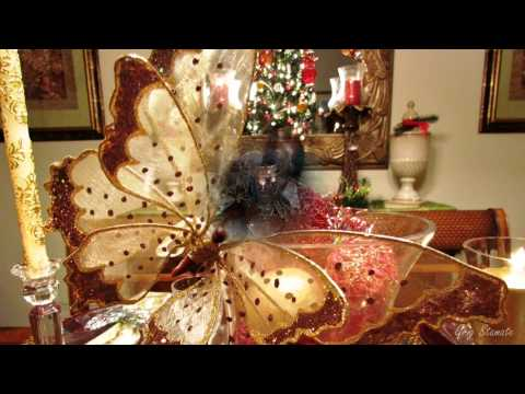 Elegant Christmas Table Top Decoration Ideas