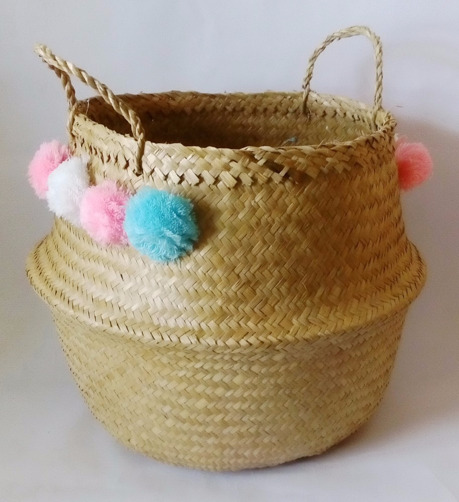 Handmade Seagrass Baskets : Wholesales eco friendly handmade seagrass belly basket