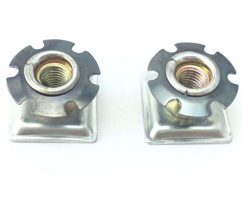 Metal Spring Threaded Inserts Rivet Nut For Round Tubes 3