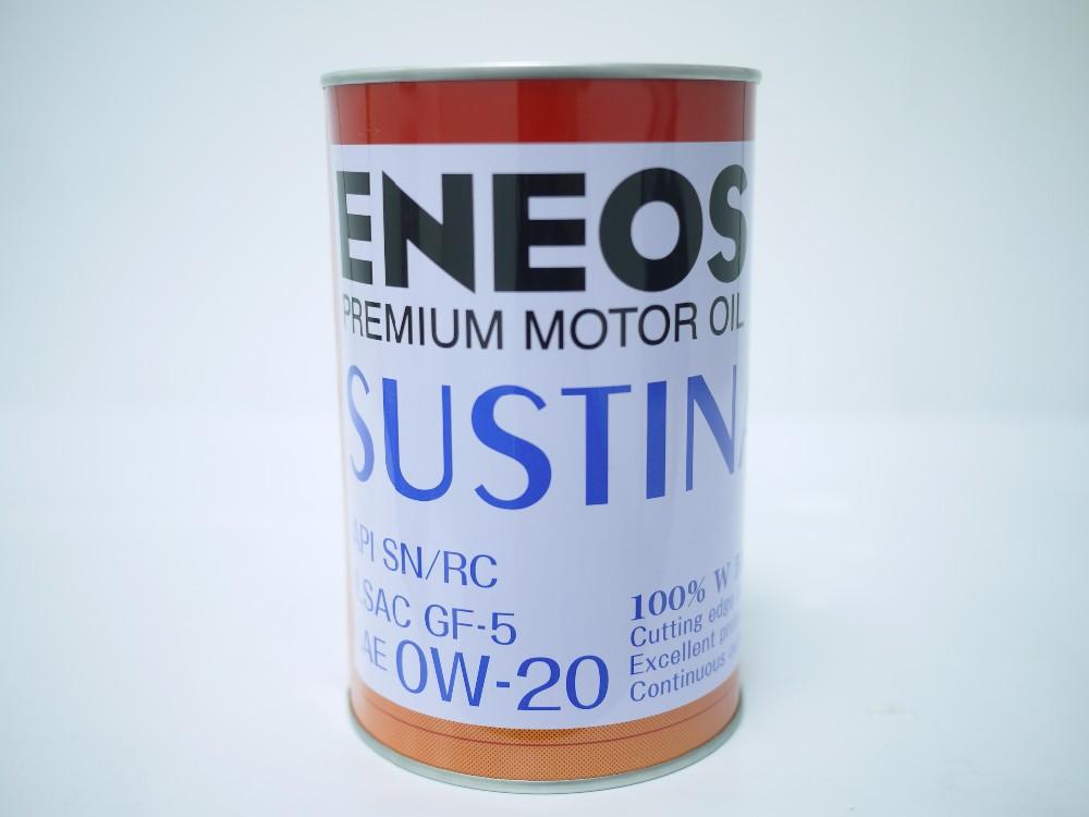 Eneos sustina premium motor oil 0w 20 full synthetic oil for Where to buy motor oil